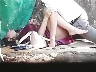 Thai couples outdoor