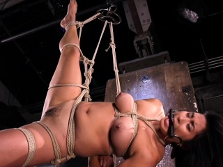 Asian slave disciplined and toyed by maledom