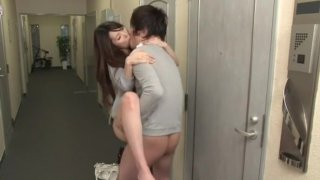 Fabulous Japanese girl Yui Hatano in Crazy Cunnilingus, Doggy Style JAV movie