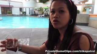 Non-Professional Filipina Enjoyment  hooter fucking