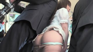 Exotic Japanese slut in Amazing HD, Public JAV scene